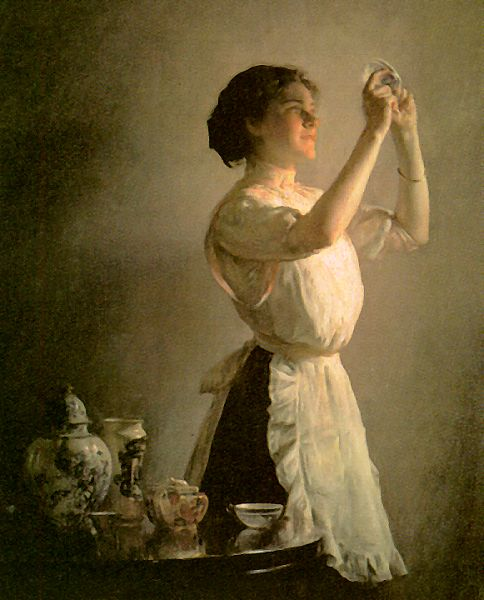 Joseph Decamp The Blue Cup, 1858-1923